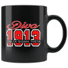 Delta Sigma Theta Black Mug - Unique Greek Store