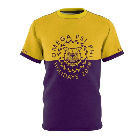Image of Omega Psi Phi Holidays 2018 Tee - Unique Greek Store