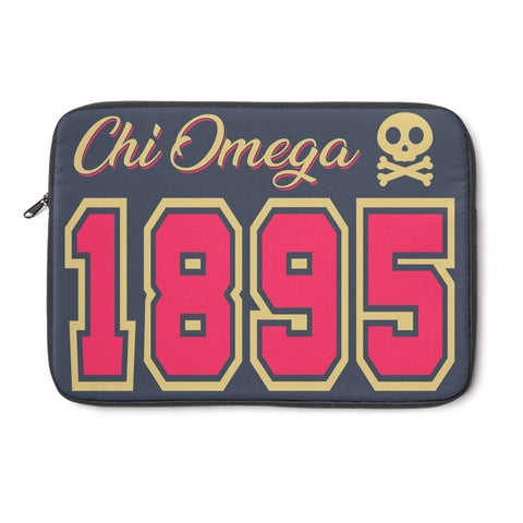 Image of Chi Omega Laptop Sleeve - Unique Greek Store