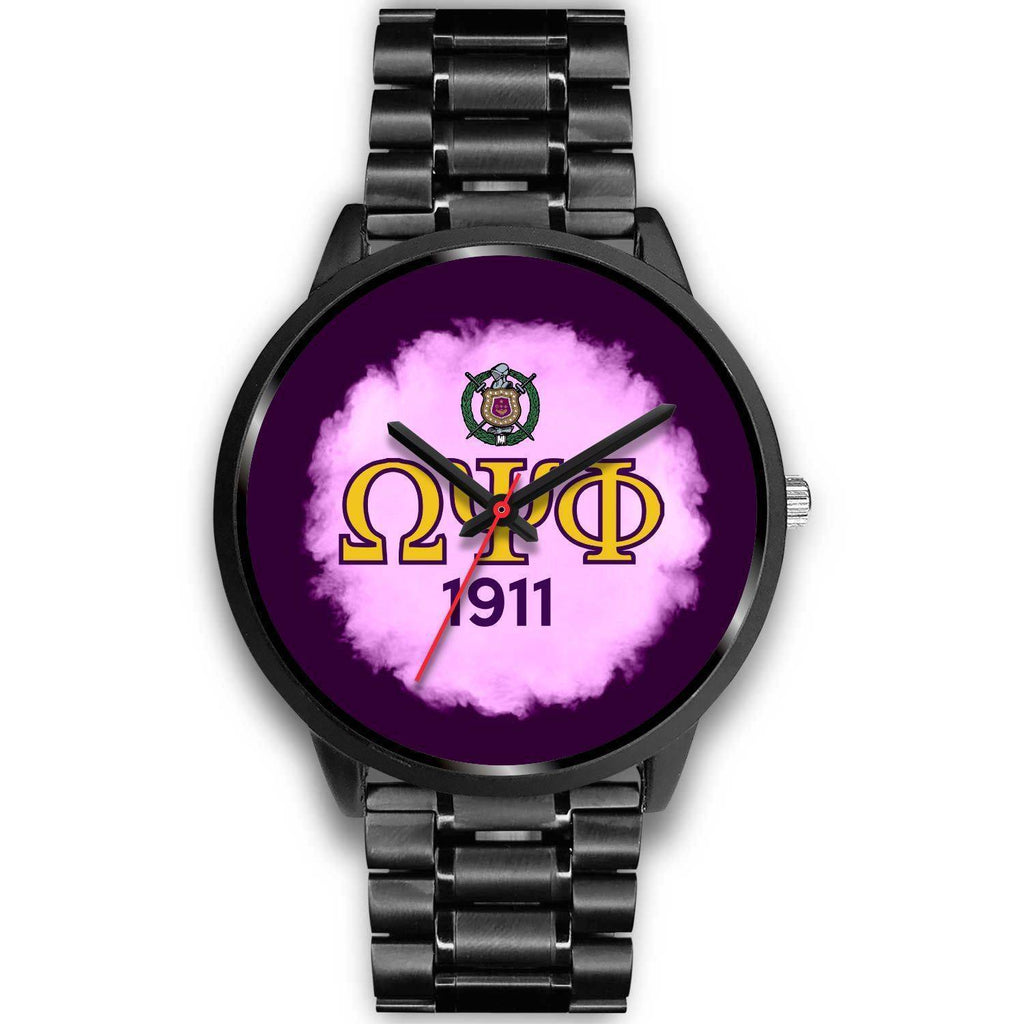 Omega Psi Phi 1911 Watch - Unique Greek Store