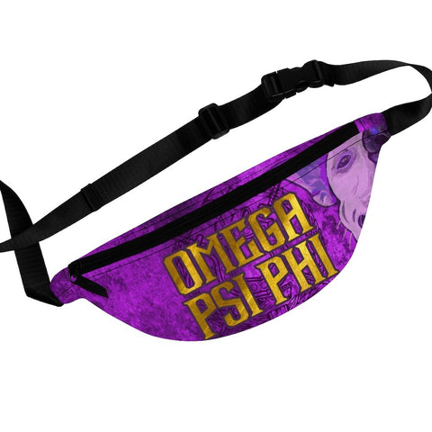 Image of Omega Psi Phi Fanny Pack