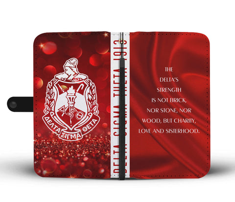 Delta Sigma Theta Emblem Wallet Case - Unique Greek Store