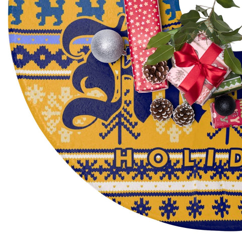 Sigma Gamma Rho Holiday Decor Tree Skirt