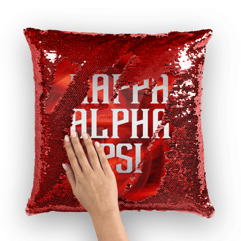 Kappa Alpha Psi Sequin Cushion Cover