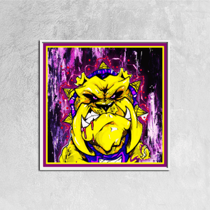 Omega Psi Phi Square Canvas