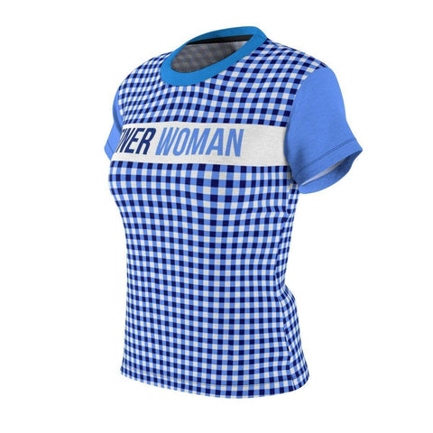 Zeta Phi Beta Checkered Tee - Unique Greek Store
