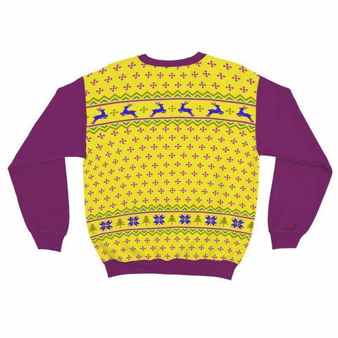Image of Omega Psi Phi Ugly Christmas Sweater - Unique Greek Store