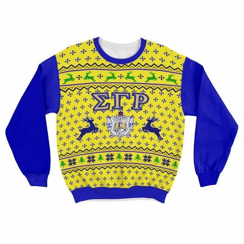 Sigma Gamma Rho Ugly Christmas Sweater