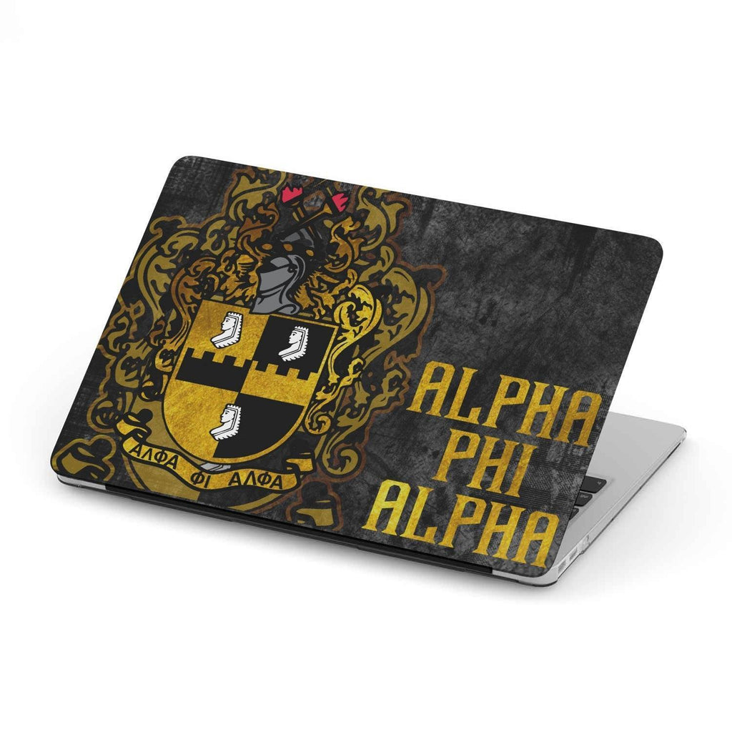 ALPHA PHI ALPHA Fraternity Shield White 11 x 17 Art Print