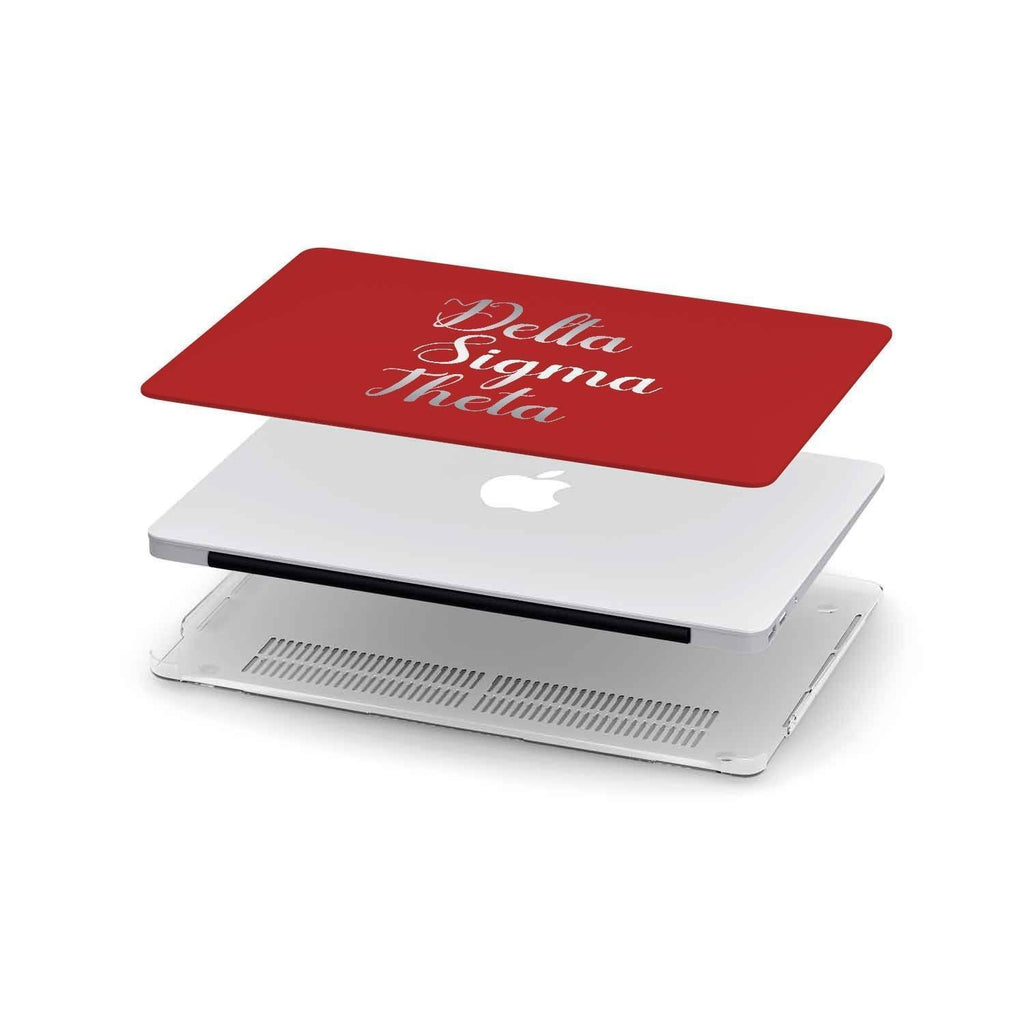 Delta Sigma Theta Macbook Cover
