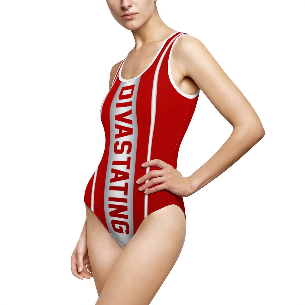 Delta Sigma Theta One Piece Swimwear