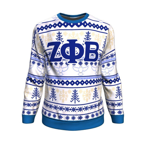 Image of Zeta Phi Beta Christmas Sweatshirt