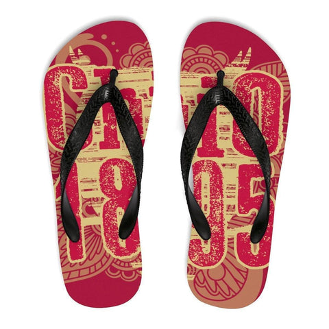 Image of Unisex Flip-Flops - Unique Greek Store