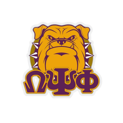 Image of Omega Psi Phi Greek Stickers