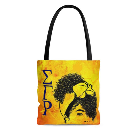 Image of Sigma Gamma Rho Women Portrait Design Tote