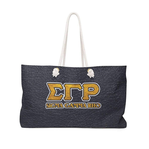 Image of Sigma Gamma Rho Weekender Bag