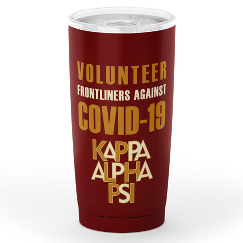 Image of Kappa Alpha Psi Volunteer Frontliner Tumbler