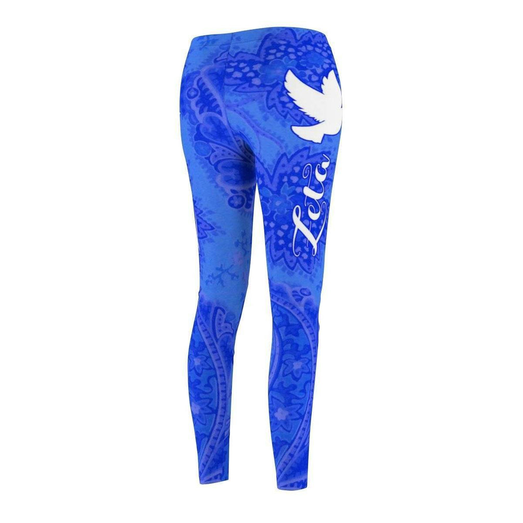 Zeta Phi Beta Symbol Casual Leggings - Unique Greek Store