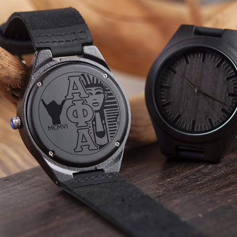 Image of Alpha Phi Alpha Engrave Watch