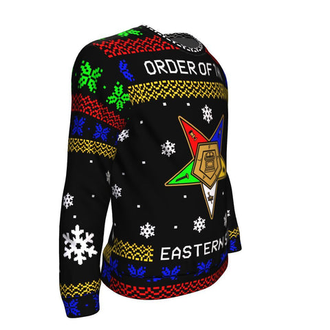 Image of Order of the Eastern Star Ugly Sweatshirt