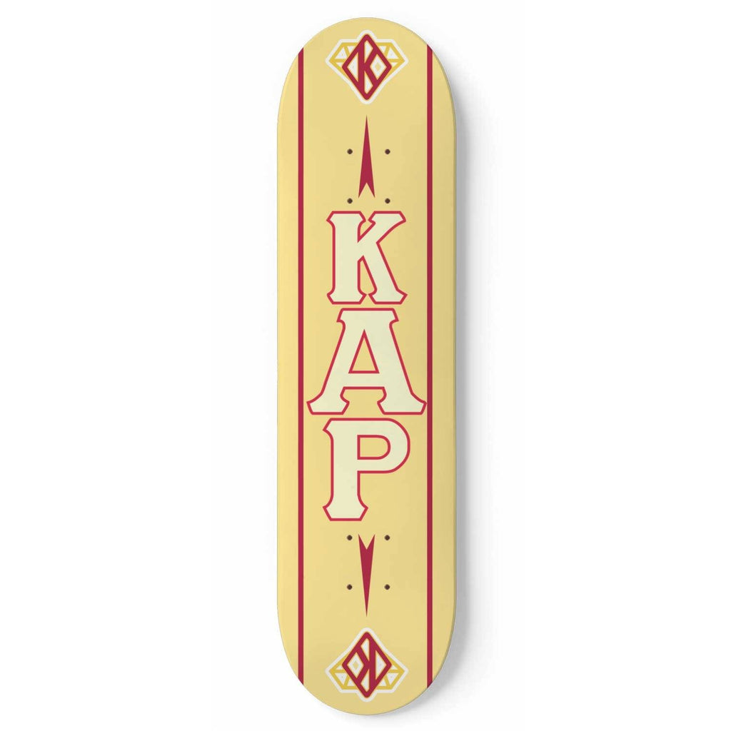 Kappa Alpha Psi Skateboard Wall Art