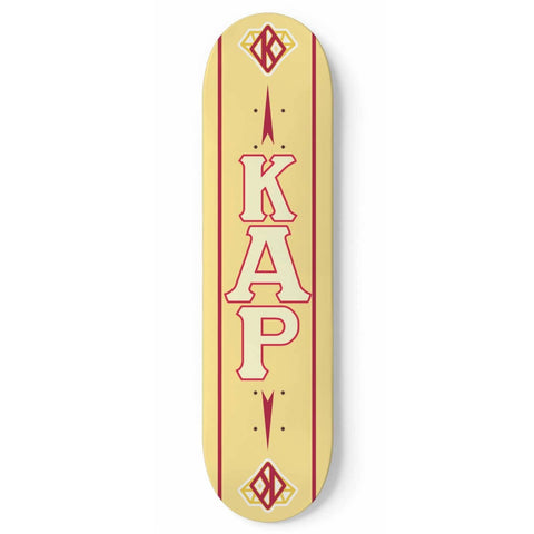 Image of Kappa Alpha Psi Skateboard Wall Art