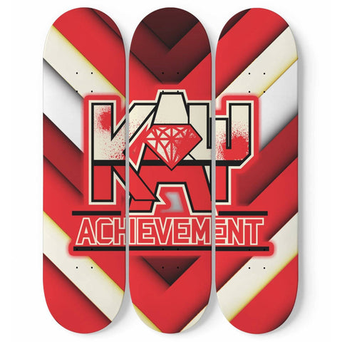 Image of Kappa Alpha Psi 3 Skateboard Wall Art