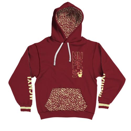 Kappa Alpha Psi Fraternity Contrast Hoodie