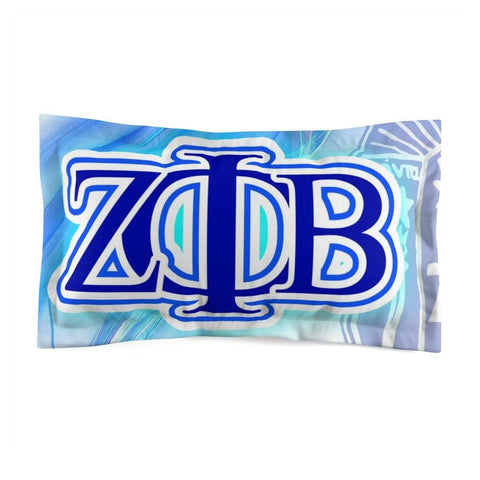 Zeta Phi Beta Pillow Sham
