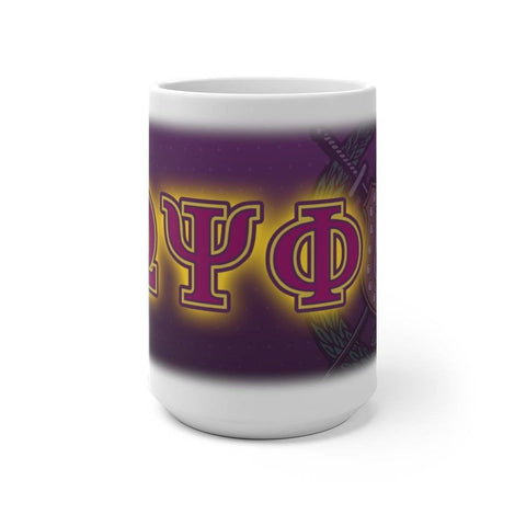 Omega Psi Phi Changing Mug - Unique Greek Store