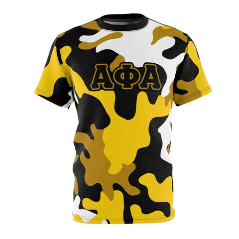 Image of Alpha Phi Alpha Camouflage Tee - Unique Greek Store
