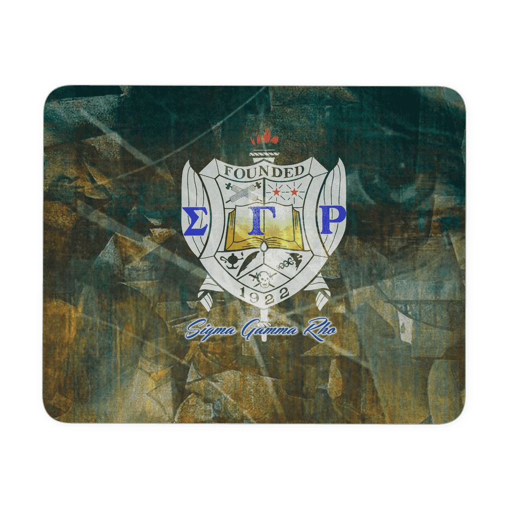 Sigma Gamma Rho Mousepad - Unique Greek Store