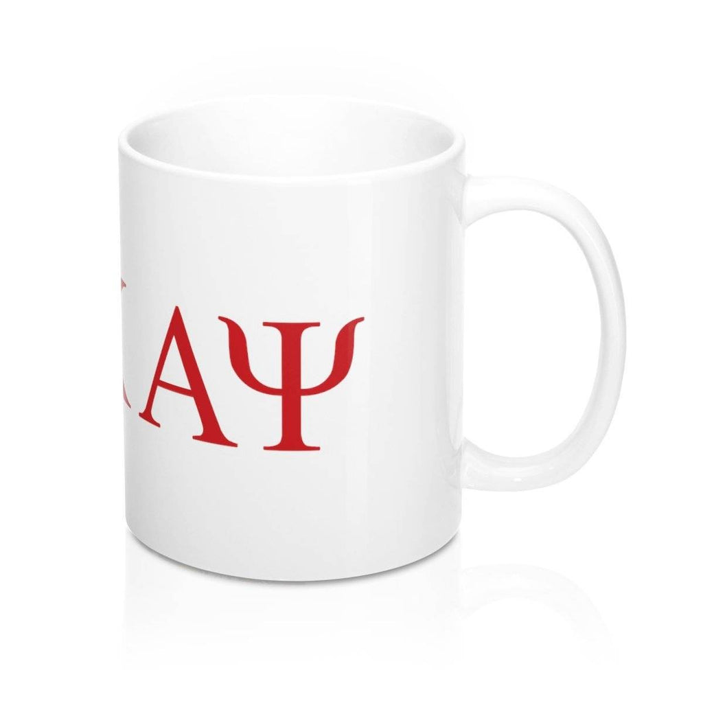Kappa Alpha Psi Greek Initials Mug