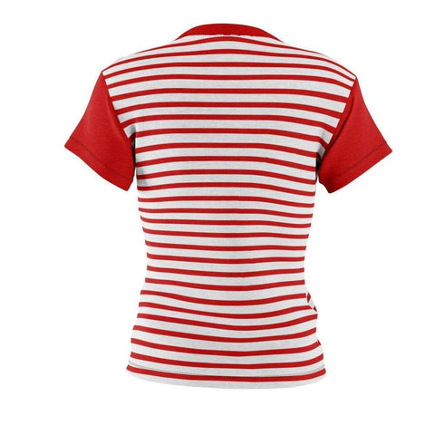 Image of Delta Sigma Theta Stripe Tee - Unique Greek Store