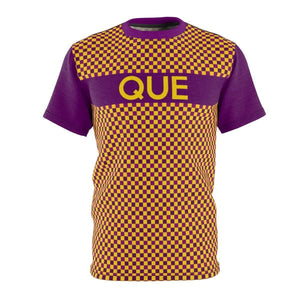 Omega Psi Phi Checkered Tee - Unique Greek Store