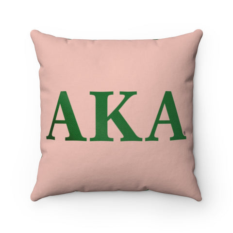Alpha Kappa Alpha Square Pillow