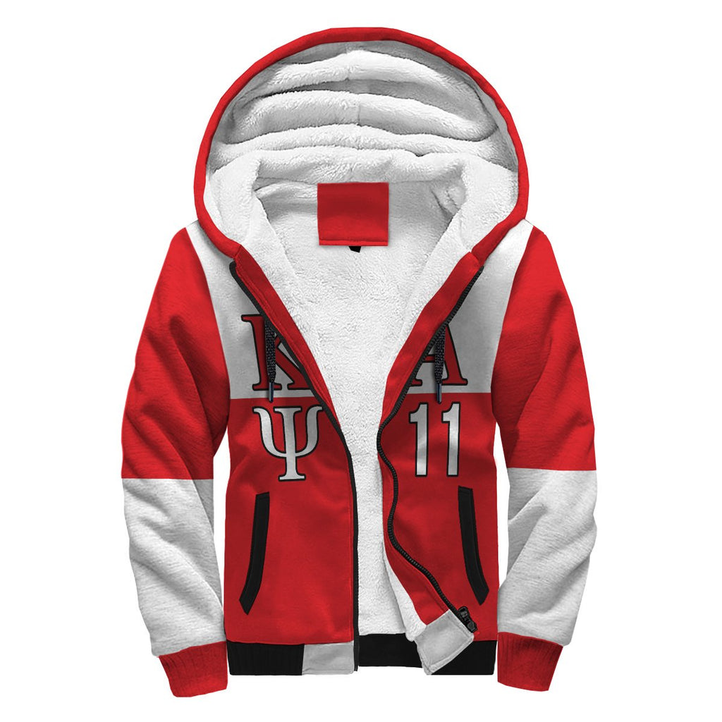 Kappa Alpha Psi Fraternity Mens New Athletic Hoodie Red