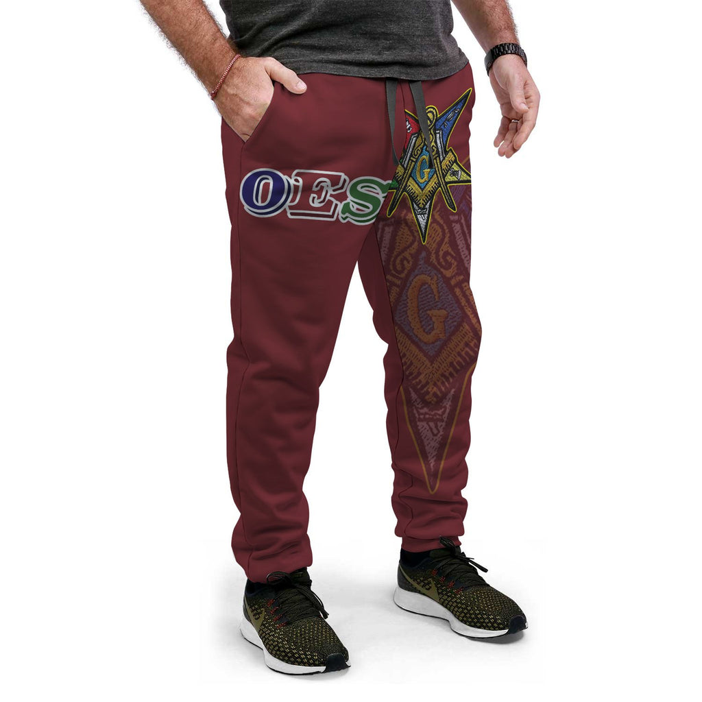 Order of the Eastern Star Emblem Joggers