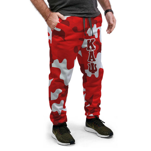 Image of Kappa Alpha Psi Camouflage Jogger Pants