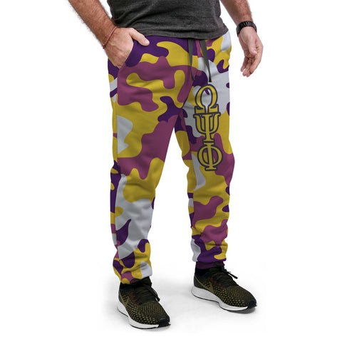 Omega Psi Phi Camouflage Jogger Pants
