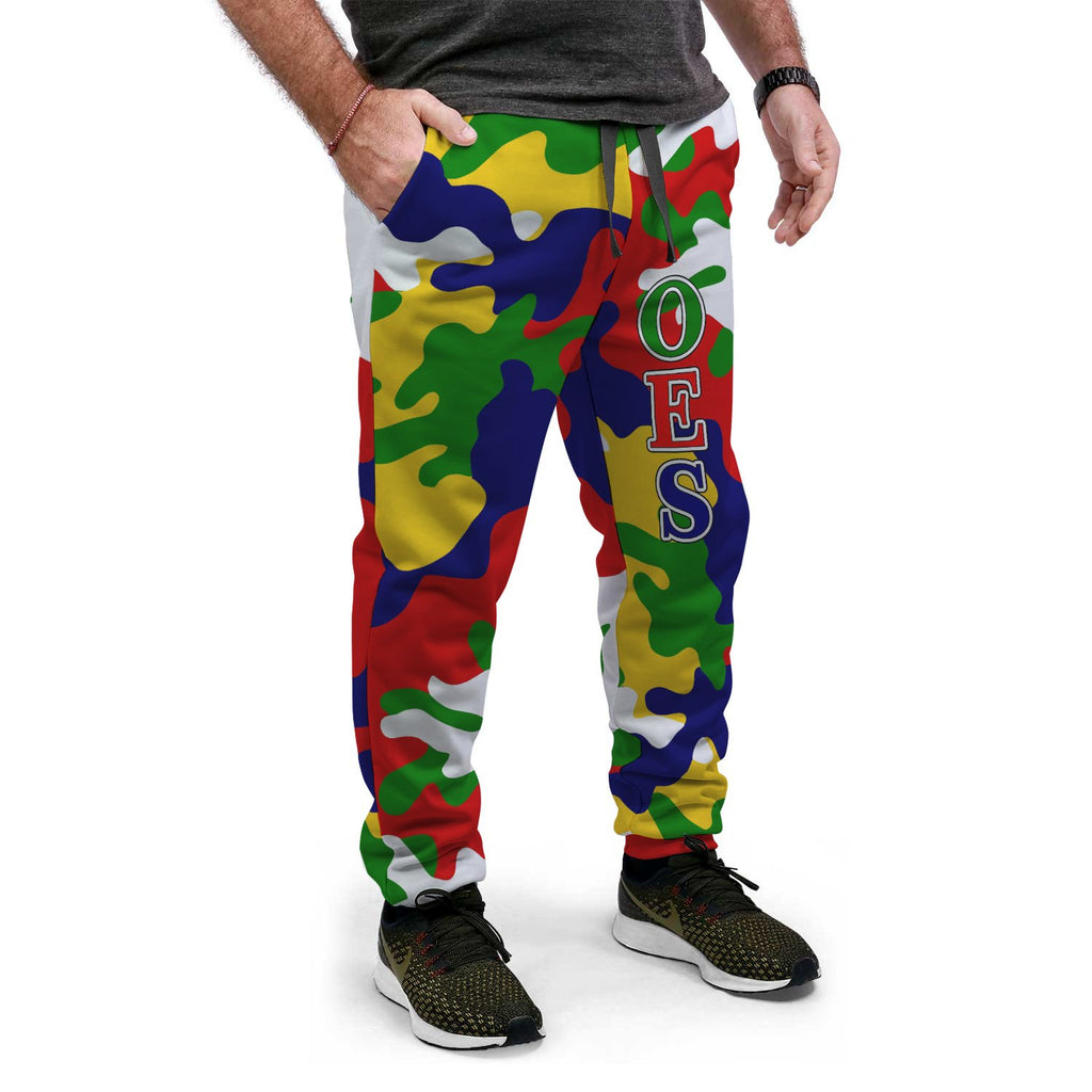 Order of the Eastern Star Camouflage Jogger Pants