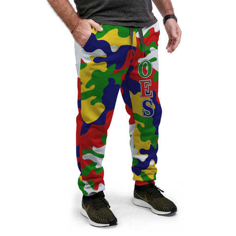 Image of Order of the Eastern Star Camouflage Jogger Pants