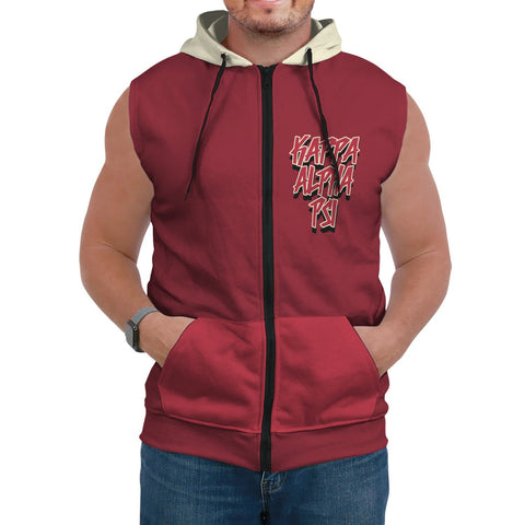 Image of Kappa Alpha Psi Sleeveless Hoodie