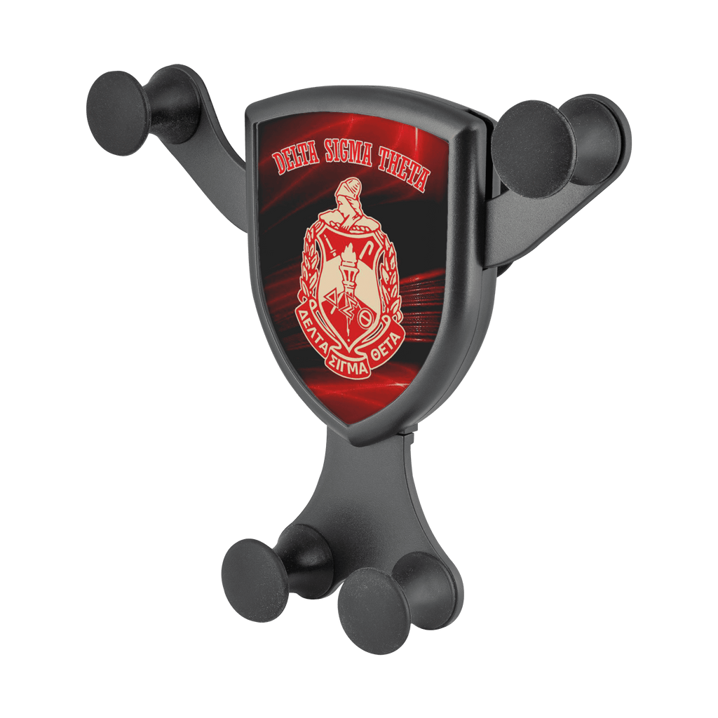 Delta Sigma Theta Wireless Car Charger