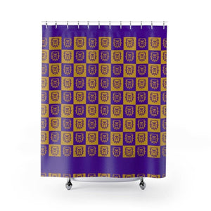 Omega Psi Phi Shower Curtains - Unique Greek Store