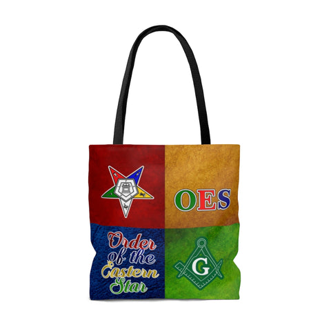 Image of Order of the Eastern Star AOP Tote