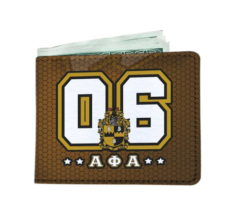 Image of Alpha Phi Alpha WC Mens Wallet - Unique Greek Store