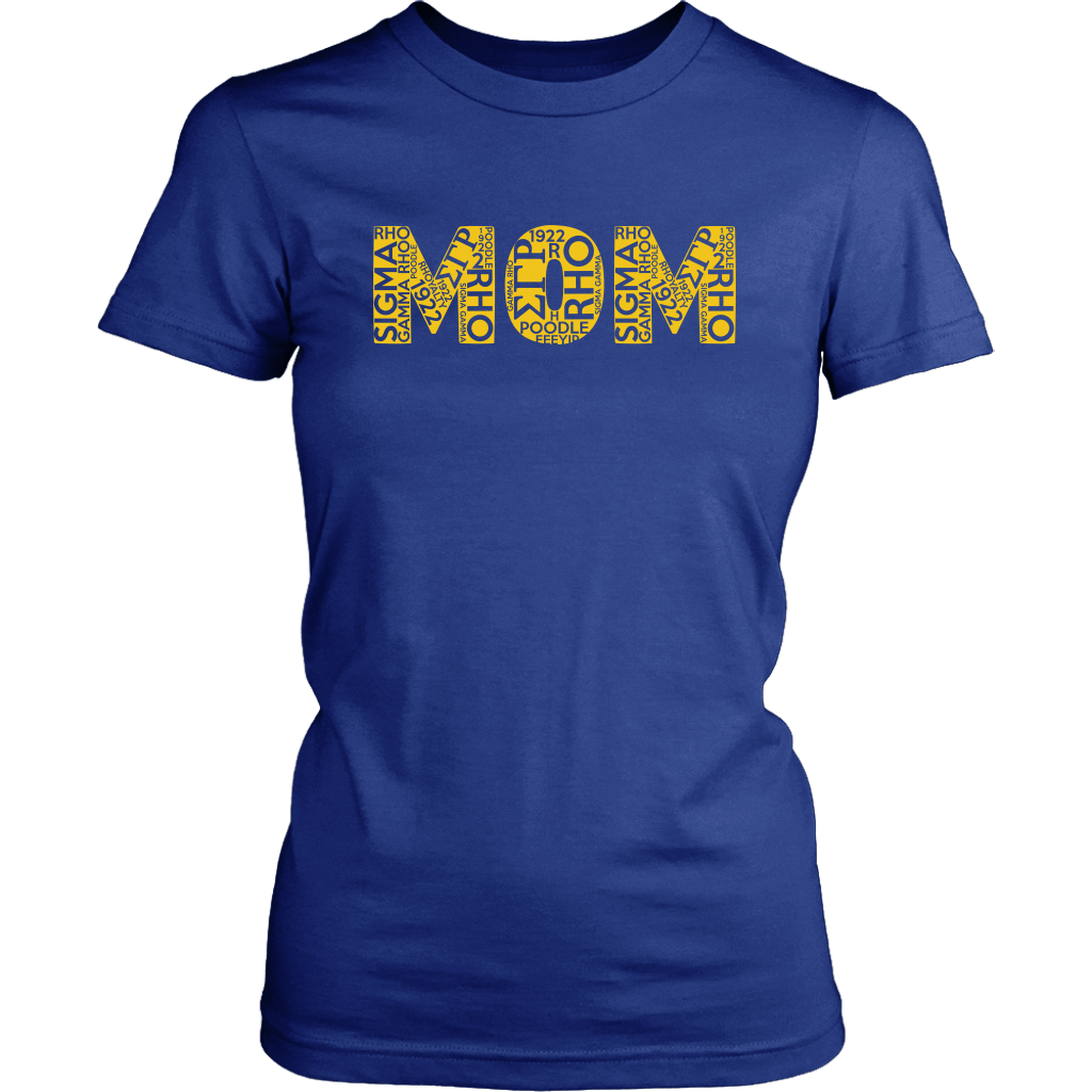 Sigma Gamma Rho Mom Sorority Tee