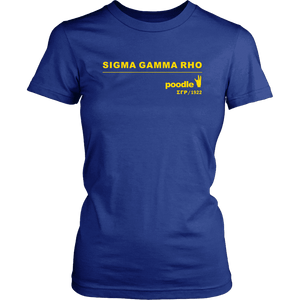 Sigma Gamma Rho 1922 District Tee