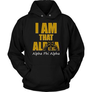 Alpha Phi Alpha Tagline Unisex Hoodie - Unique Greek Store